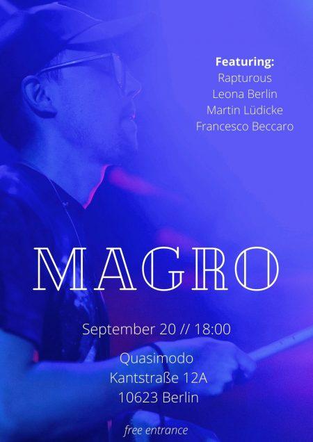 Magro Live 21:09:13
